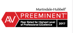 Top Rated by Martindale Hubbell